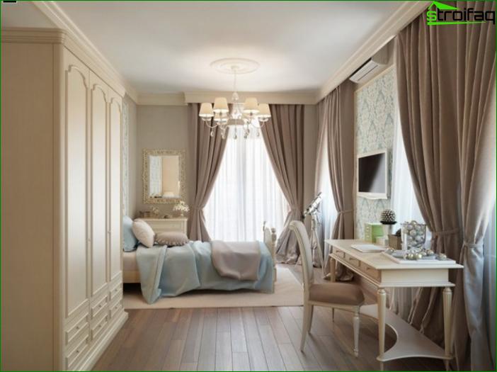 Foto cortinas en el dormitorio 3