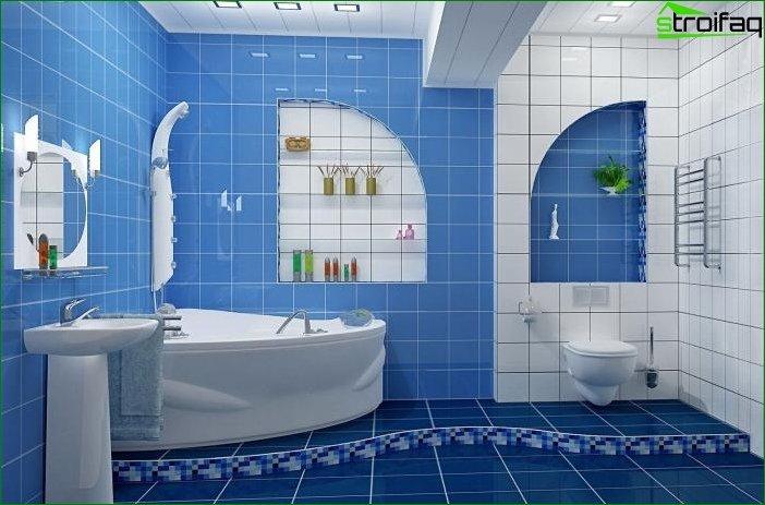 Фото ремонту ванної кімнати
