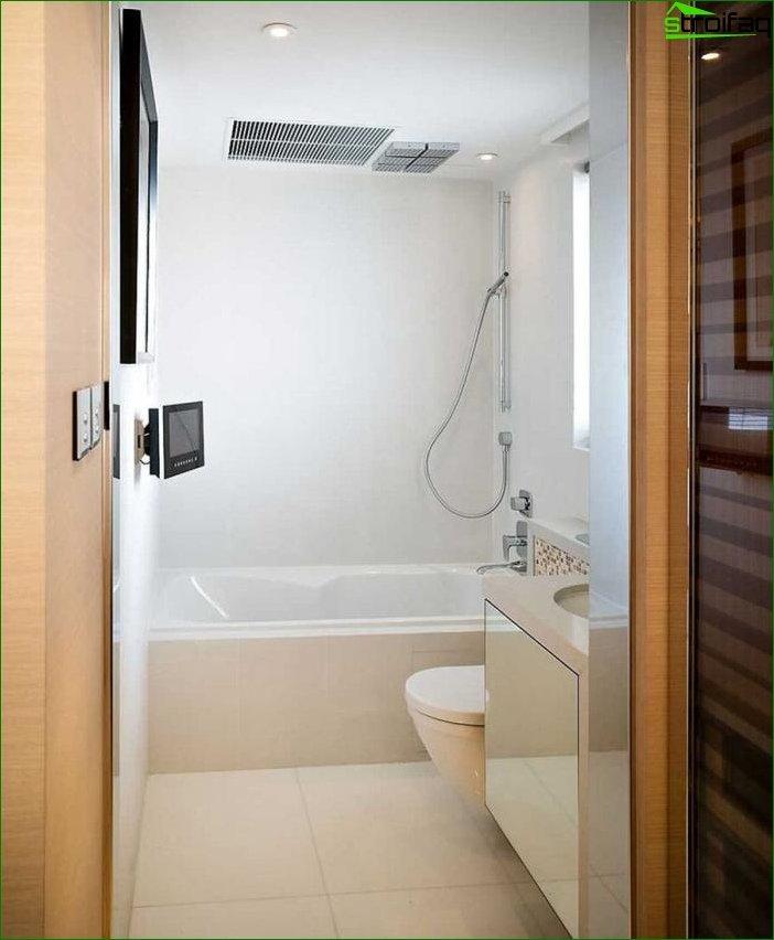 Фотографія ремонту ванної кімнати