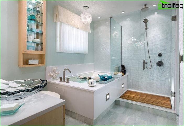 Дизайн суміщеної ванної кімнати