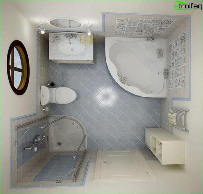 Планування ванній