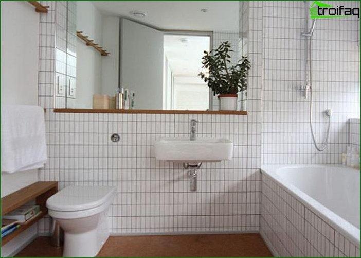 Меблі для ванної кімнати в дизайні інтер'єру