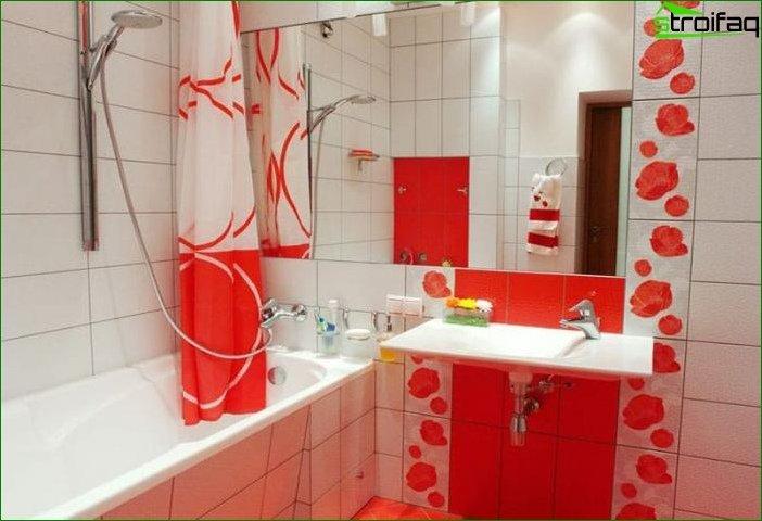 Приклад ремонту ванної кімнати 8
