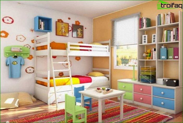 Design nursery for heterosexual children