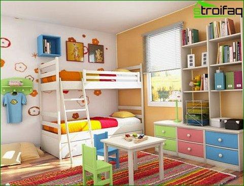 Children's layout options for heterosexual children 1