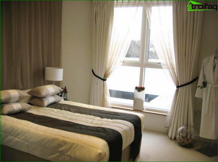 Foto cortinas en el dormitorio 6