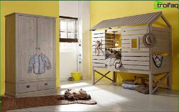 Handmade kids room