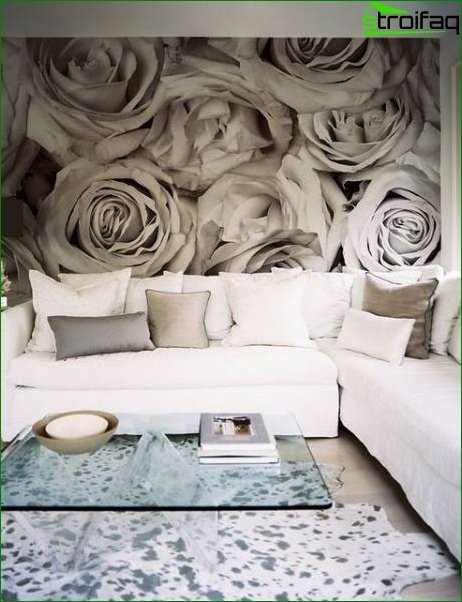 Wall mural for living room 3