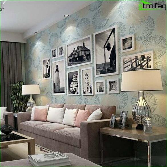 Minimalism style wallpaper