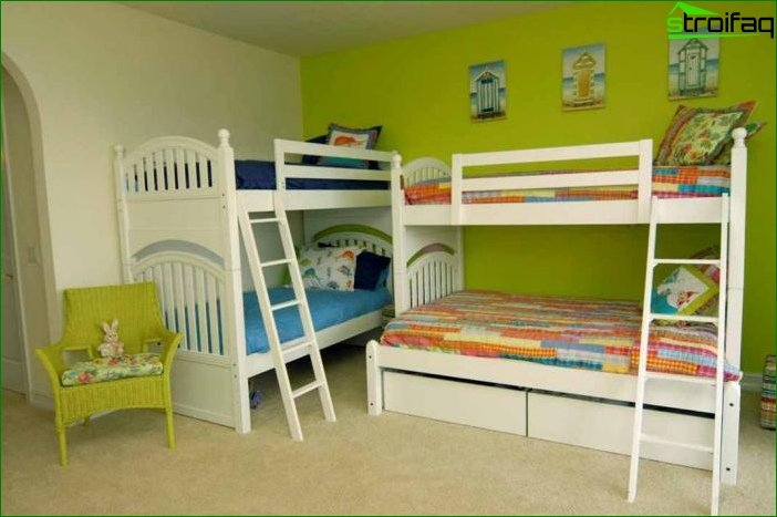 Photo of a room for heterosexual children - 1