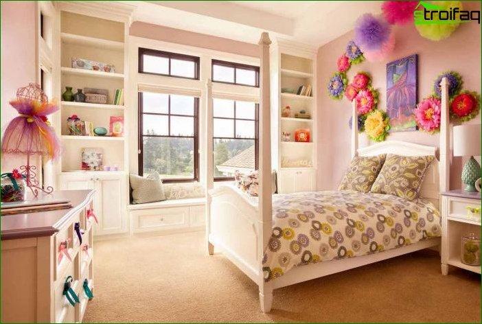 Habitación infantil para niña: creando un diseño interior acogedor