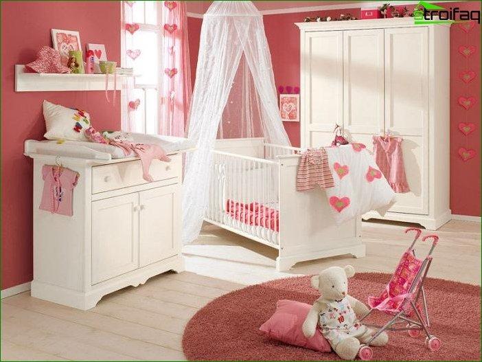 Habitación para una niña de 2-3 años 5