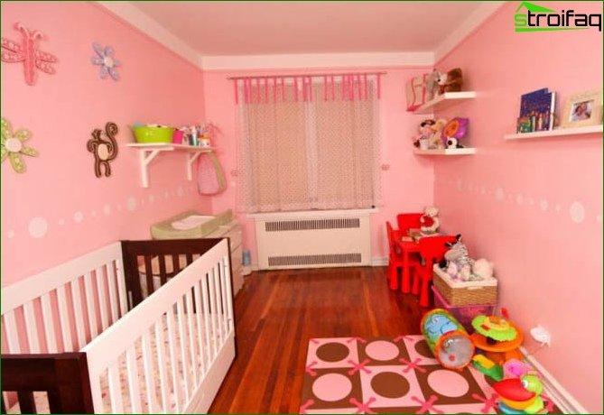 Habitación para niñas 2-3 años 9