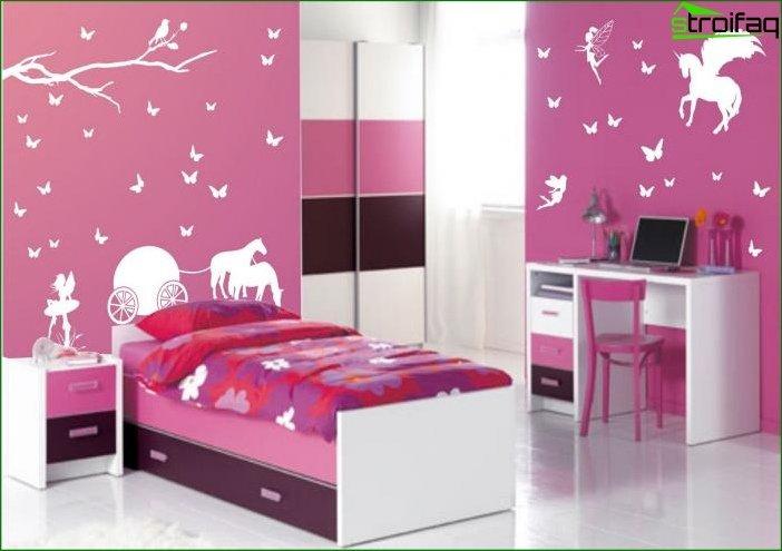 Habitación para niñas de 6 a 7 años 4