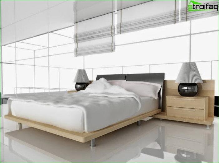Foto cortinas para el dormitorio