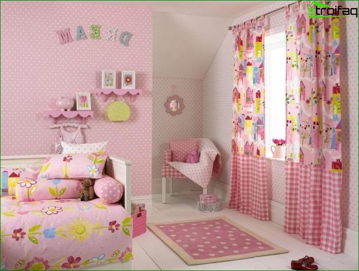 Photo of curtains for a child's room