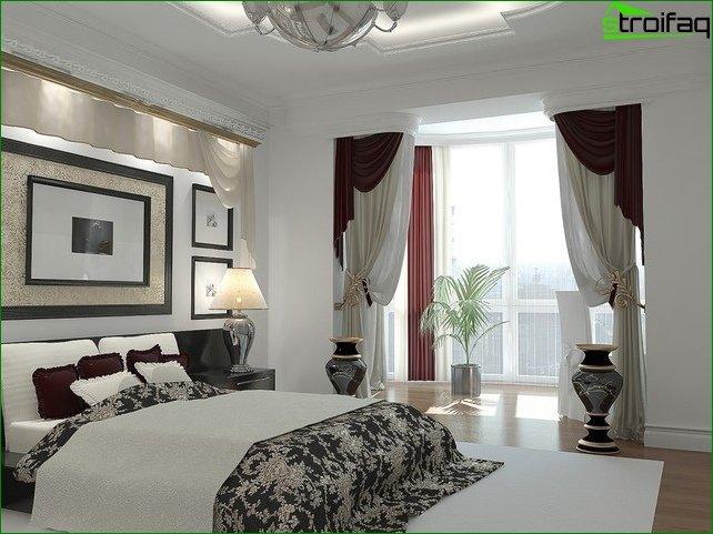 Foto cortinas en el dormitorio 4