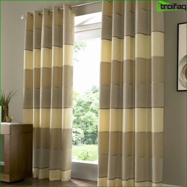 Photo curtains in the bedroom 5