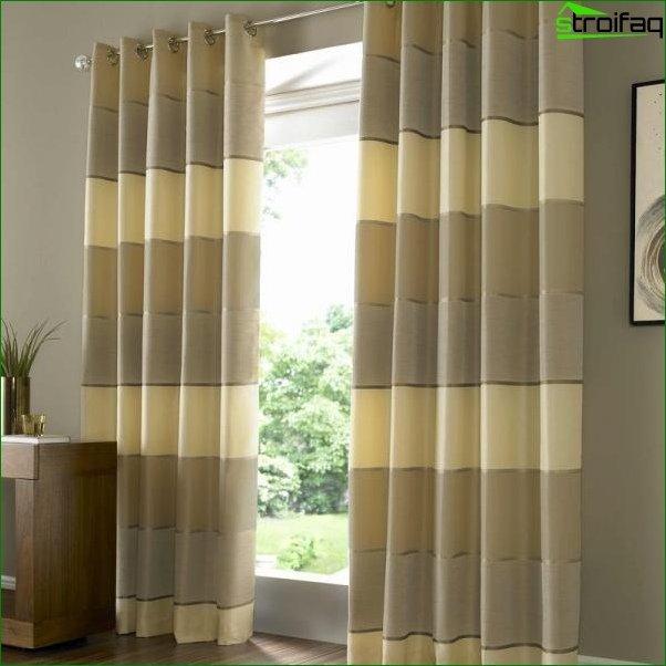 Foto cortinas en el dormitorio 5