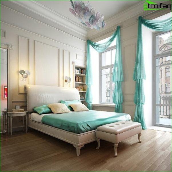 Foto cortinas en el dormitorio 7