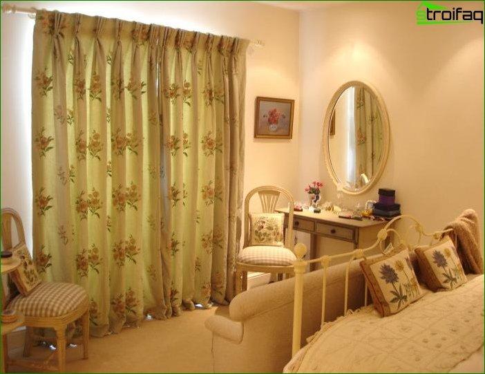 Foto cortinas en el dormitorio 8