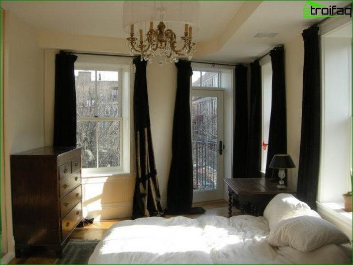 Foto cortinas en el dormitorio 10