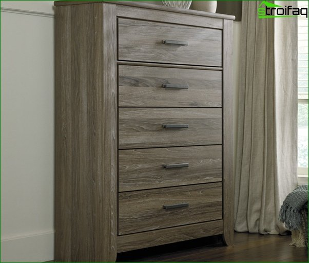 Trends 2017 in the design of the bedroom (cabinets) - 3