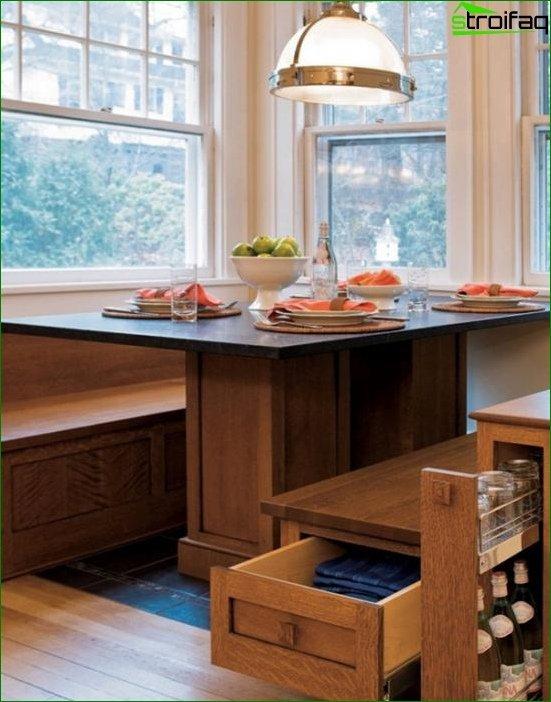 أريكة المطبخ - 2