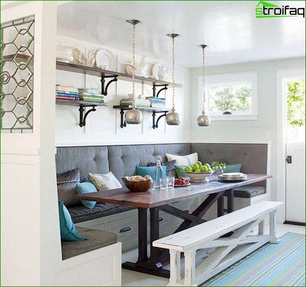 أريكة المطبخ - 4