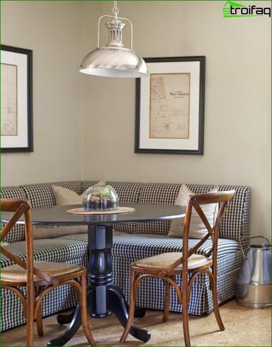 أريكة المطبخ - 5