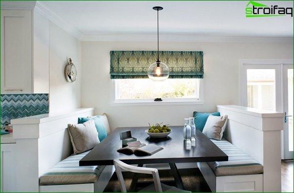أريكة مطبخ (طاولة طعام) - 1