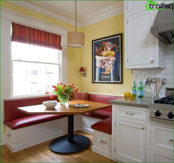 أريكة مطبخ (طاولة طعام) - 2