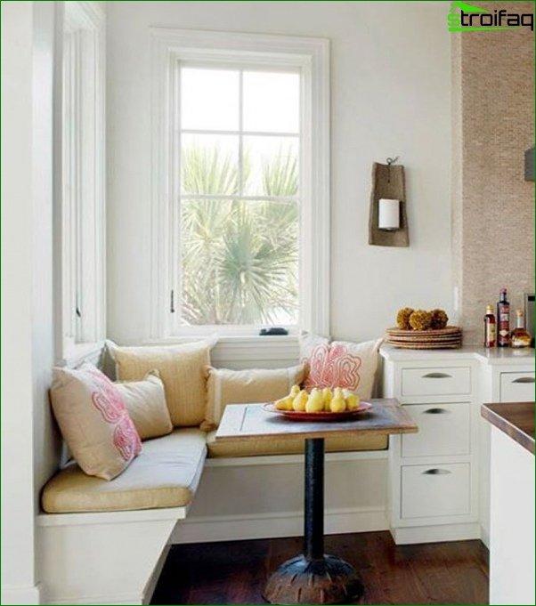 أريكة المطبخ (الزاوية) - 3