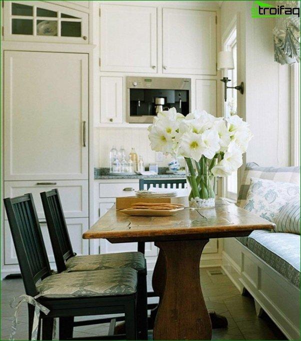 أريكة المطبخ (الخطي) - 1