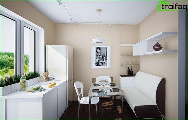 أريكة المطبخ (الخطي) - 2