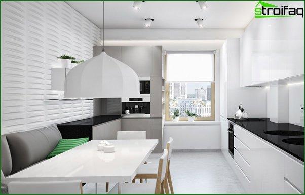 أريكة المطبخ (الخطي) - 3