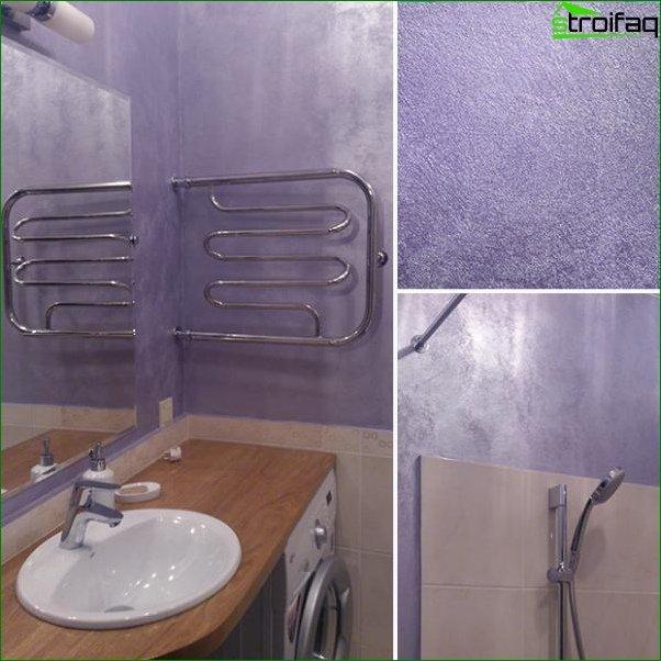 Design photo of a small bathroom