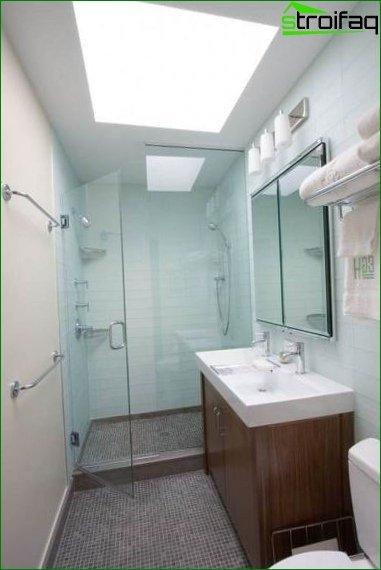 Huge bathroom mirror