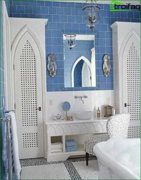 Spacious bathroom in a private house