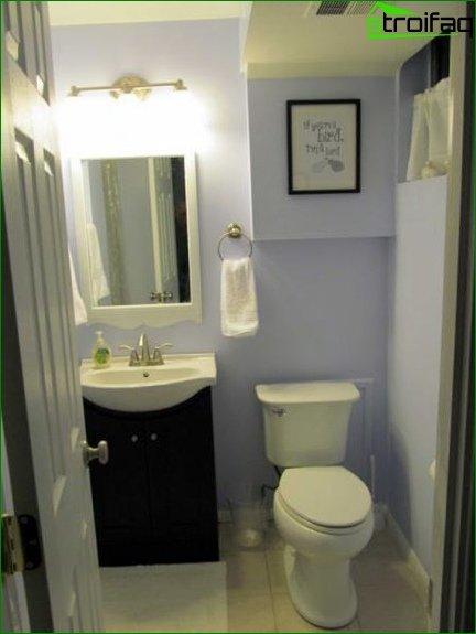 Color scheme for toilet design 2