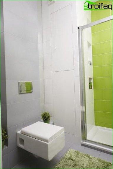 Color scheme for toilet design 3