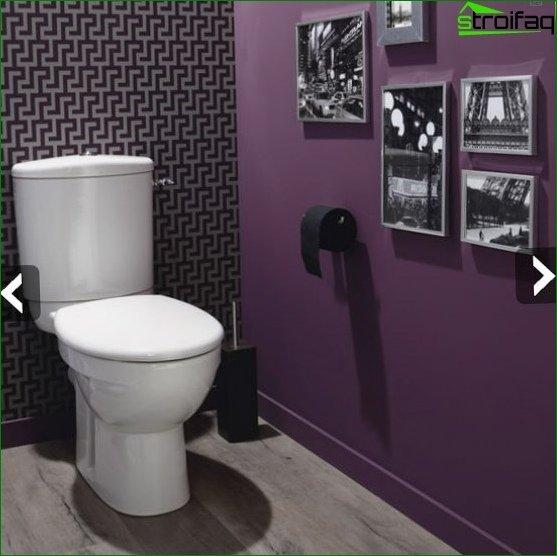 Color scheme for toilet design 4