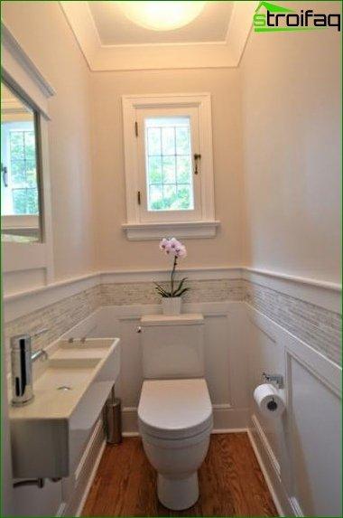 Color scheme for toilet design 7