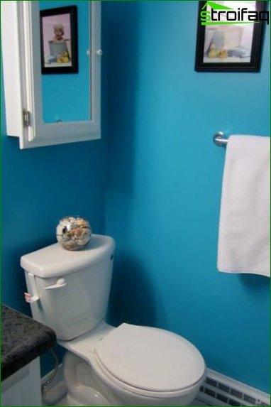 Color scheme for toilet design 9