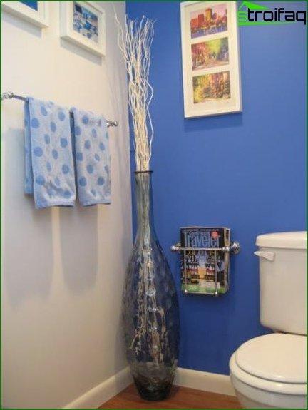 Color scheme for toilet design 10