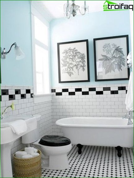 Color scheme for toilet design 11