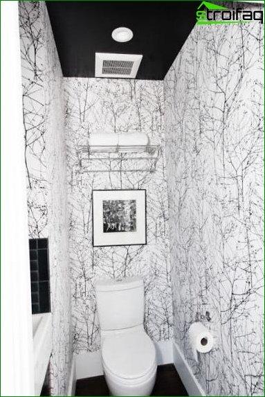 Color scheme for toilet design 12