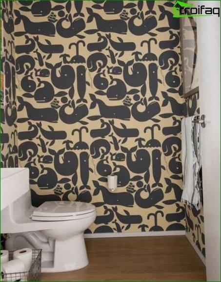 Color scheme for toilet design 13