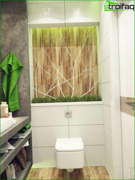 Color scheme for toilet design 14