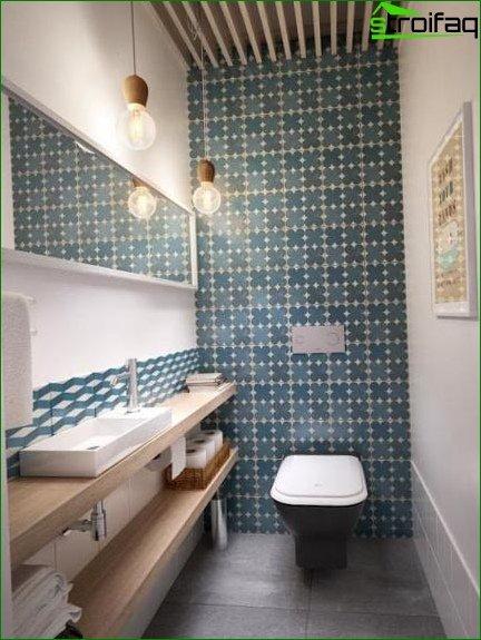 Color scheme for toilet design 19